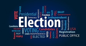 Election. Vote.