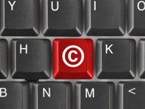 Copyright symbol. YouTube.
