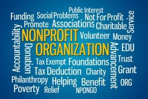 Nonprofits. Not-for-Profit.