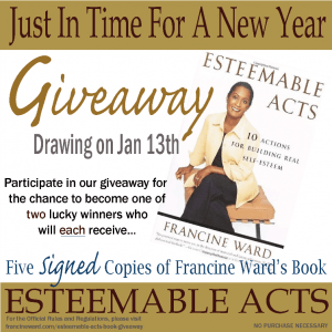Book Giveaway – Esteemable Acts: 10 Actions for Building Real Self-Esteem
