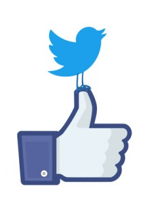 Twitter. Facebook. SEC